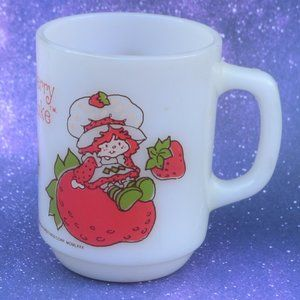 Vintage 80's Strawberry Shortcake Mug